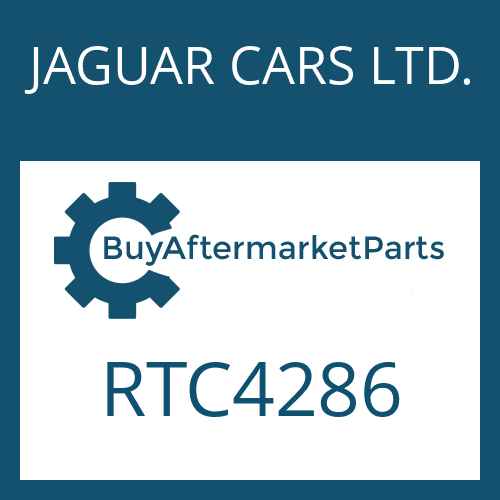 JAGUAR CARS LTD. RTC4286 - DETENT DISC