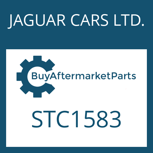 JAGUAR CARS LTD. STC1583 - GASKABELZUG