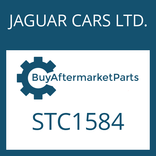 JAGUAR CARS LTD. STC1584 - OUTPUT SHAFT
