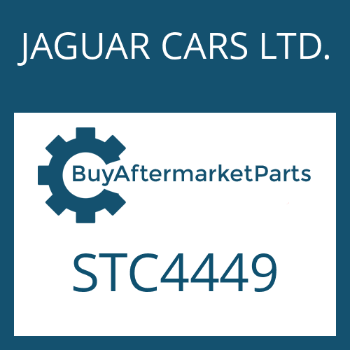 JAGUAR CARS LTD. STC4449 - SEAL KIT