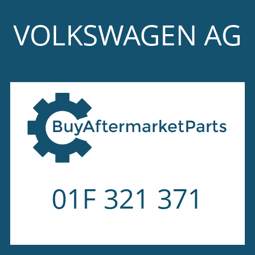 VOLKSWAGEN AG 01F 321 371 - DICHTUNG