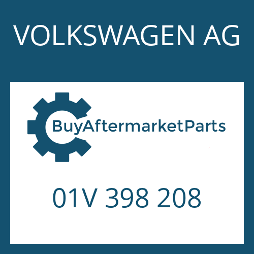 VOLKSWAGEN AG 01V 398 208 - SET OF SHIMS
