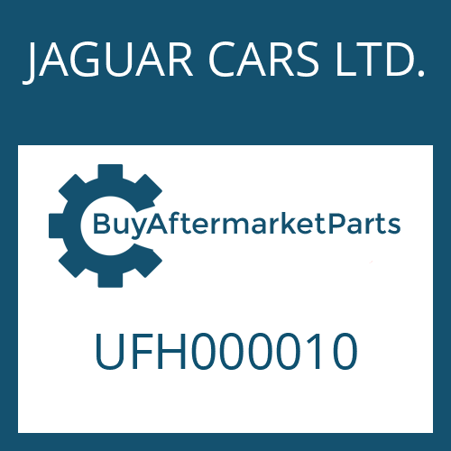JAGUAR CARS LTD. UFH000010 - ACTUATING ROD