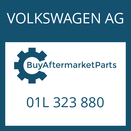 VOLKSWAGEN AG 01L 323 880 - REPAIR KIT