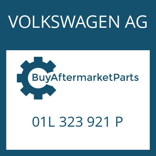 VOLKSWAGEN AG 01L 323 921 P - REPAIR KIT