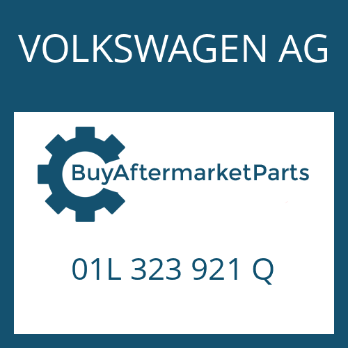 VOLKSWAGEN AG 01L 323 921 Q - REPAIR KIT