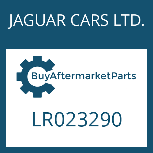 JAGUAR CARS LTD. LR023290 - SEAL KIT