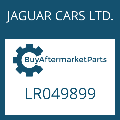 JAGUAR CARS LTD. LR049899 - SEAL KIT