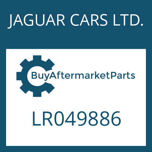 JAGUAR CARS LTD. LR049886 - SEAL KIT