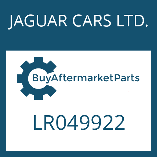 JAGUAR CARS LTD. LR049922 - STEUERUNG