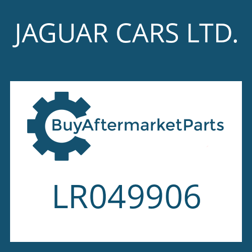 JAGUAR CARS LTD. LR049906 - WANDLER