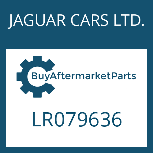 JAGUAR CARS LTD. LR079636 - STEUERUNG