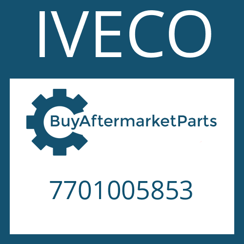 IVECO 7701005853 - HELICAL GEAR