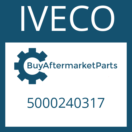 IVECO 5000240317 - REVERSE IDLER GEAR