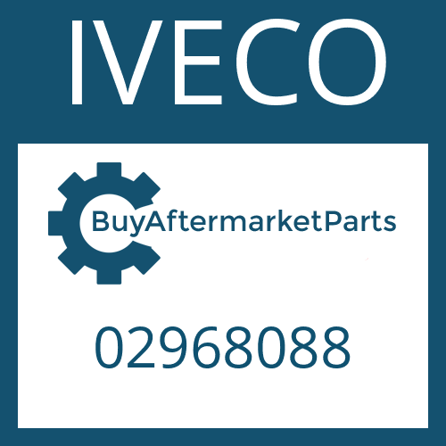 IVECO 02968088 - INPUT SHAFT