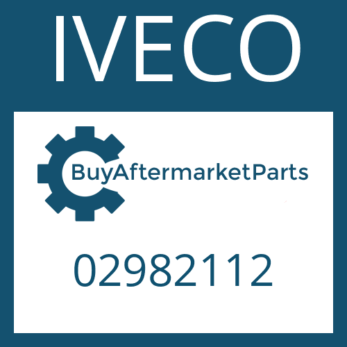 IVECO 02982112 - HELICAL GEAR