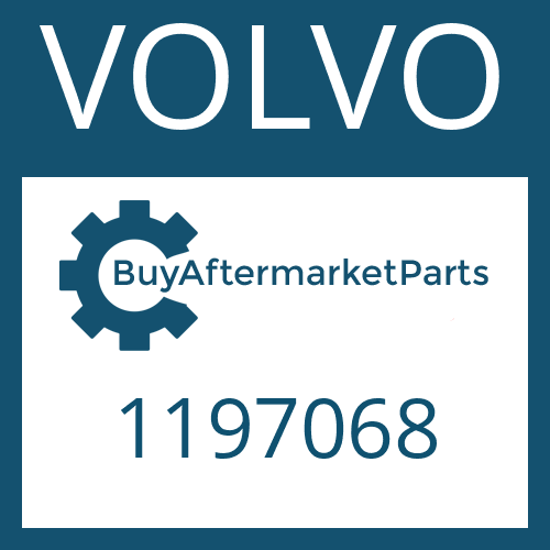 VOLVO 1197068 - HELICAL GEAR
