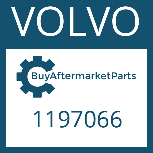 VOLVO 1197066 - HELICAL GEAR