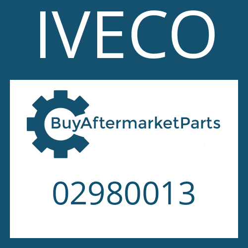 IVECO 02980013 - MAIN SHAFT