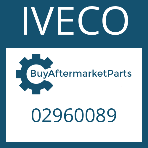 IVECO 02960089 - CONN.PLATE