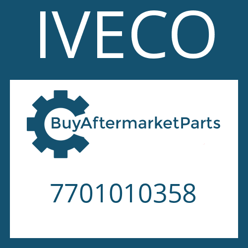 IVECO 7701010358 - INPUT SHAFT