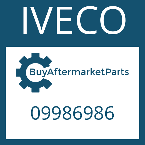 IVECO 09986986 - INPUT SHAFT