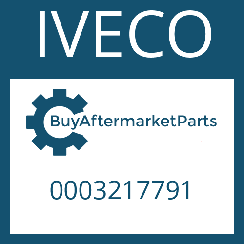 IVECO 0003217791 - HELICAL GEAR