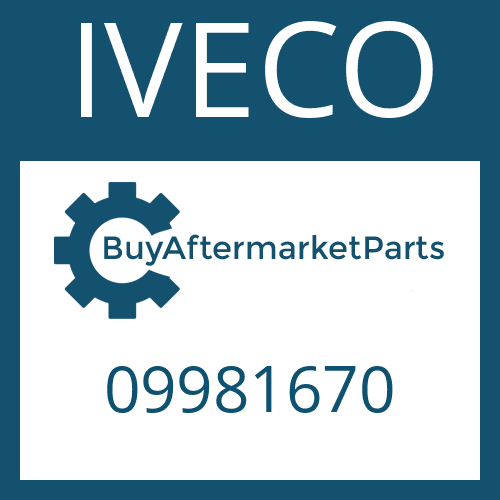 IVECO 09981670 - SHAFT