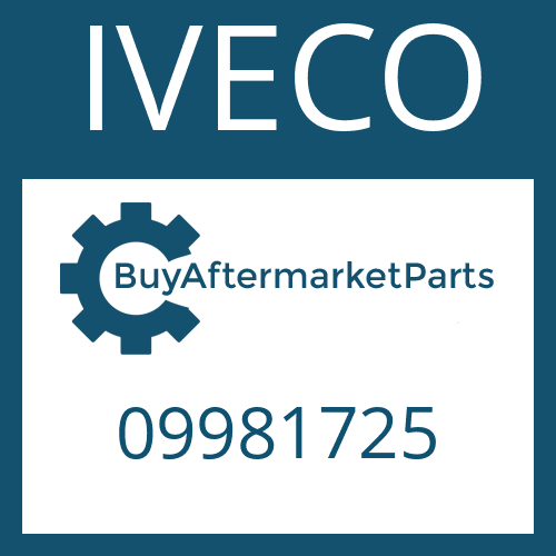 IVECO 09981725 - GUIDE PIN
