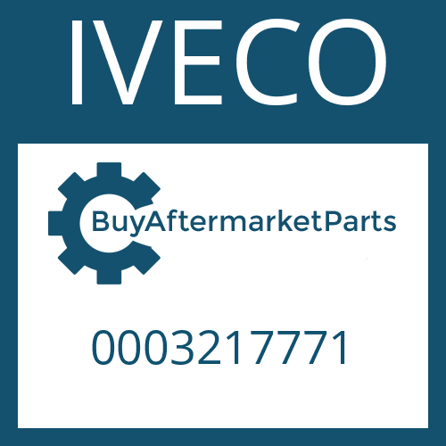 IVECO 0003217771 - HELICAL GEAR