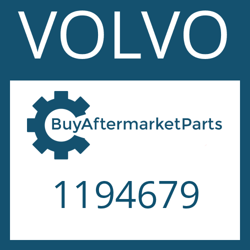 VOLVO 1194679 - HELICAL GEAR