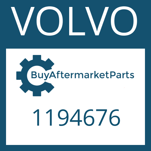 VOLVO 1194676 - HELICAL GEAR