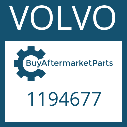 VOLVO 1194677 - HELICAL GEAR