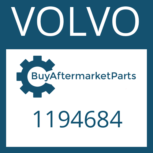 VOLVO 1194684 - SPEEDOMETER COVER