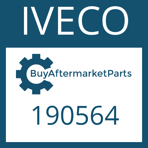 IVECO 190564 - SUCTION TUBE