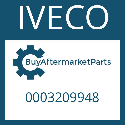 IVECO 0003209948 - OUTPUT COVER