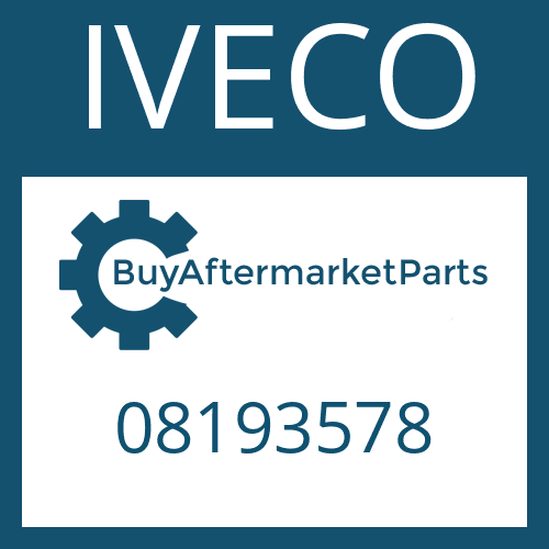 IVECO 08193578 - HELICAL GEAR