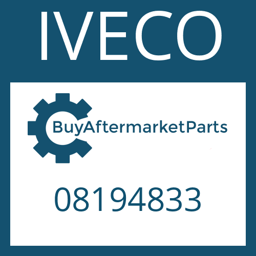 IVECO 08194833 - GEAR SHIFT RAIL