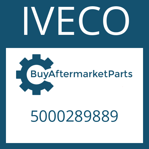 IVECO 5000289889 - SUCTION TUBE