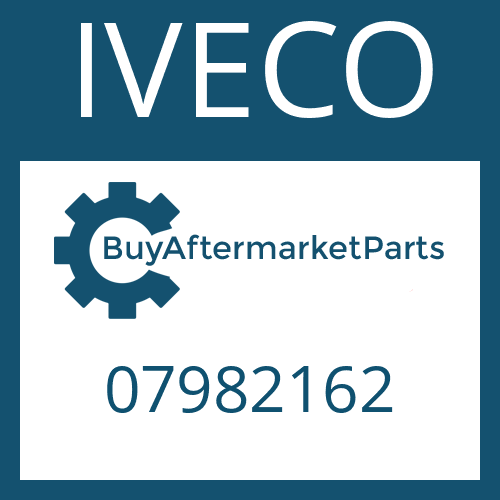 IVECO 07982162 - HELICAL GEAR
