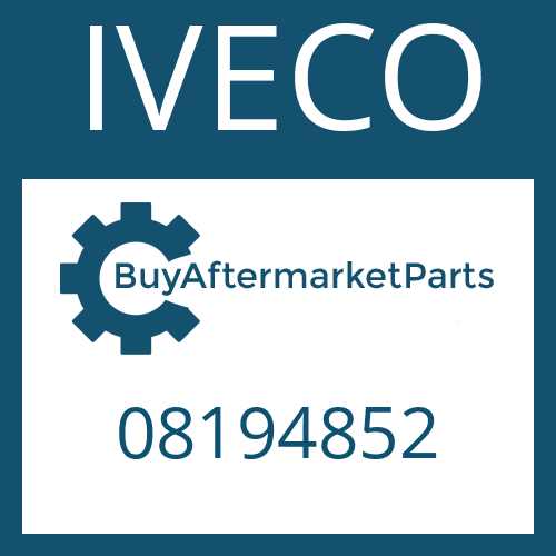 IVECO 08194852 - GEARSHIFT SHAFT