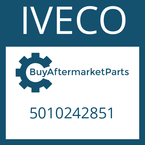 IVECO 5010242851 - HELICAL GEAR