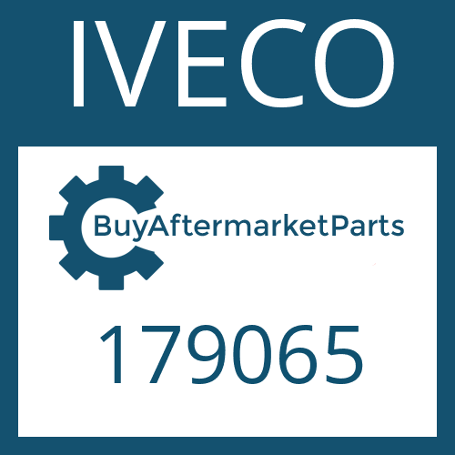 IVECO 179065 - HELICAL GEAR