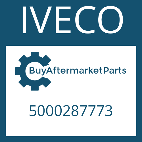 IVECO 5000287773 - COVER SHEET