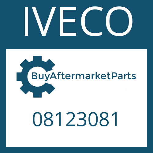 IVECO 08123081 - SUCTION TUBE