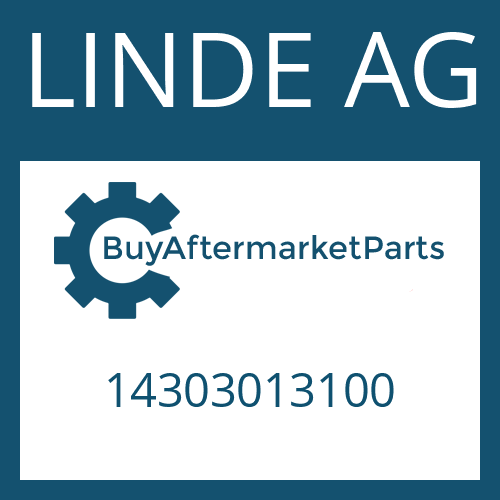 LINDE AG 14303013100 - FIXING PLATE