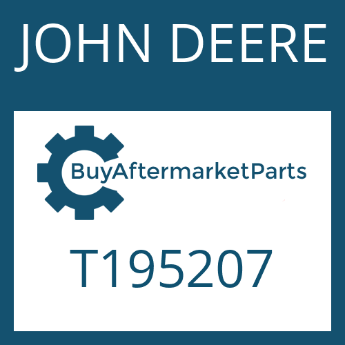 JOHN DEERE T195207 - STATOR SHAFT