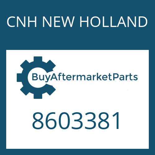 CNH NEW HOLLAND 8603381 - LOCK PLATE