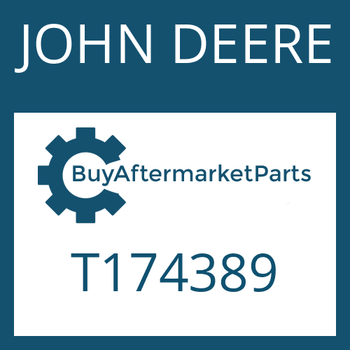 JOHN DEERE T174389 - OIL TUBE