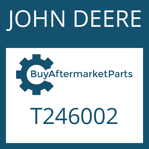 JOHN DEERE T246002 - PUMP SHAFT